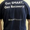SMART Recovery navy blue T-Shirt - back